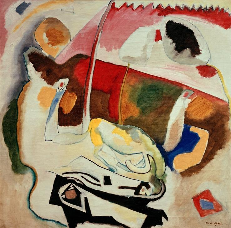 Kandinsky / Improvisation 21/ 1911