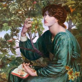 Happy Birthday Dante! Dzisiaj świętujemy 189 urodziny angielskiego malarza i poety Dantego Gabriela Rossettiego