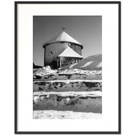 Na szczycie Śnieżki, Karkonosze, Polska, 2003