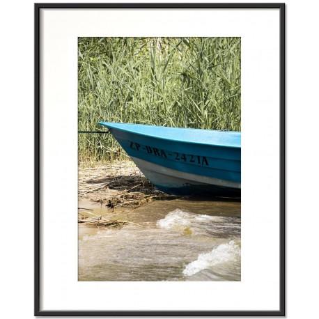 blue boat - trzaw