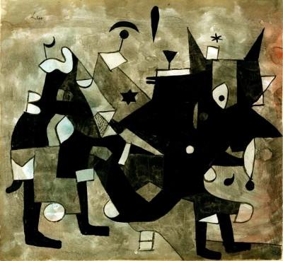 Überladener Teufel - Paul Klee