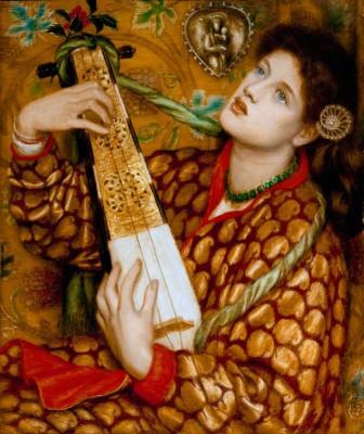A Christmas Carol - Dante Gabriel Rossetti
