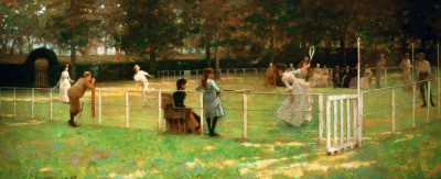 A Game of Tennis - John Lavery