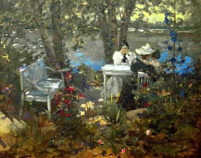 A Garden in France - John Lavery