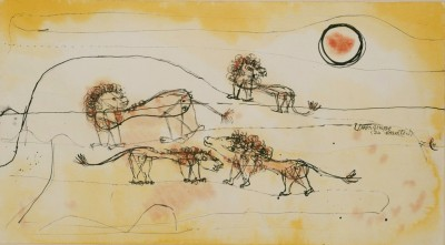 A Pride of Lions - Paul Klee