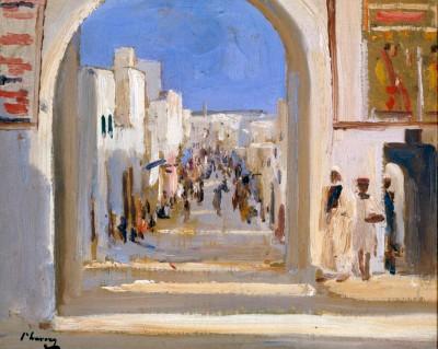 A Street in Rabat - Morocco - John Lavery