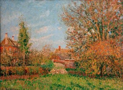 Automne à Eragny - Camille Pissarro