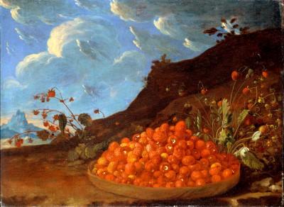 Basket of Wild Strawberries - Luis Meléndez