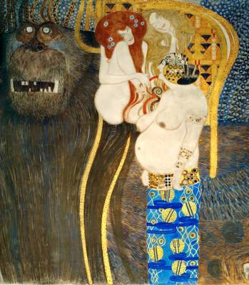 BEETHOVEN FRIEZE 1902 - Gustav Klimt