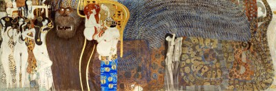 BEETHOVEN FRIEZE DETAIL - Gustav Klimt