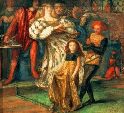 Borgia - Dante Gabriel Rossetti