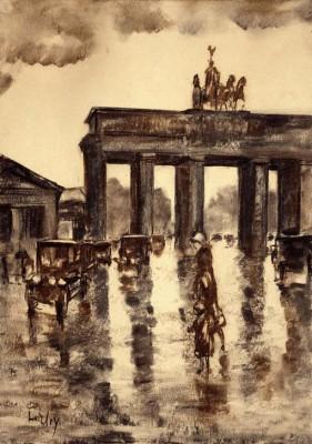 Brandenburg Gate - Lesser Ury