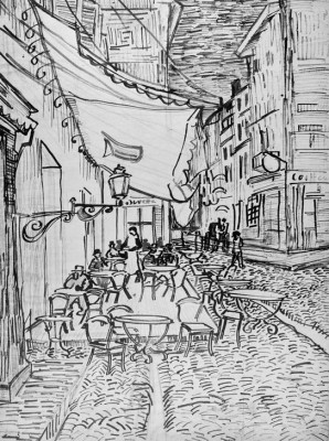 Cafe terrace in the evening - Vincent van Gogh