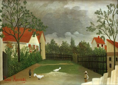 Chicken Run - Henri Rousseau