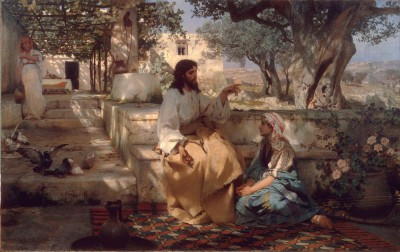 Chrystus i grzesznica - Henryk Siemiradzki