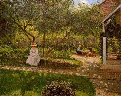 Coin de jardin à Eragny - Camille Pissarro