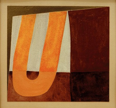 Composition in 'U' shape - Sophie Taeuber-Arp