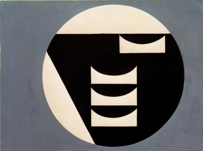 Composition in a circle - Sophie Taeuber-Arp