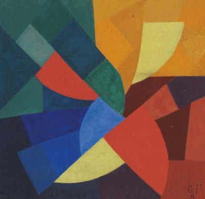 Composition XI - Otto Freundlich