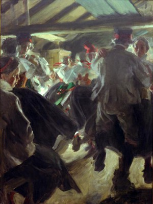 Dance in Gopsmoorkate - Anders Zorn