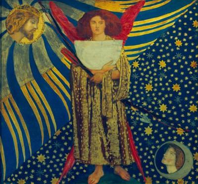 Dante's Love - Dante Gabriel Rossetti