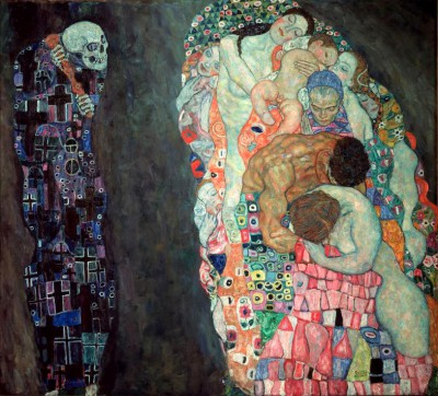DEATH AND LIFE - Gustav Klimt