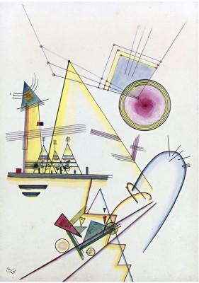 Delicate soul - Wassily Kandinsky