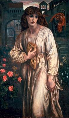 Der Gruß der Beatrice - Dante Gabriel Rossetti