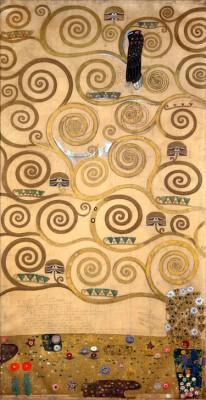 DER LEBENSBAUM (LINKER INNERER TEIL) - Gustav Klimt