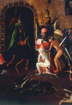 Detail Hell's Revenge - Hieronim Bosch
