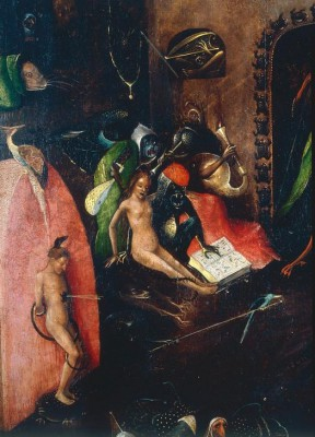 Detail punishments of hell - Hieronim Bosch