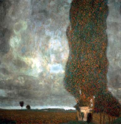 DIE GROSSE PAPPEL I - Gustav Klimt