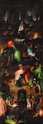 Die Hölle (2) - Hieronim Bosch