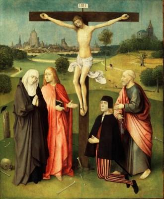 Die Kreuzigung - Hieronim Bosch