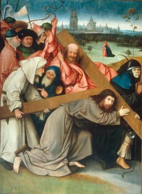Die Kreuztragung Christi (2) - Hieronim Bosch