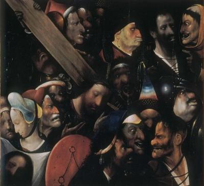 Die Kreuztragung Christi - Hieronim Bosch