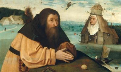 DIE VERSUCHUNG DES HEILIGEN ANTONIUS (2) - Hieronim Bosch