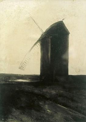 Dutch windmill - Lesser Ury