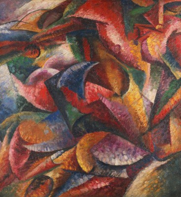 Dynamism of the Human Body - Umberto Boccioni
