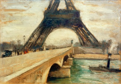 Eiffel Tower - Lesser Ury