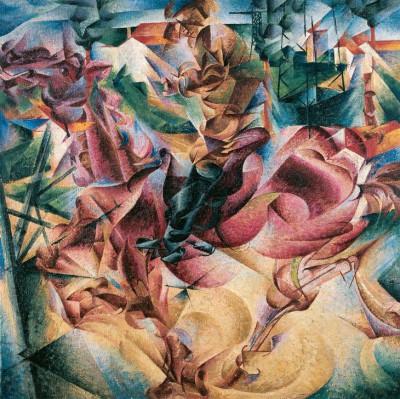 Elasticity - Umberto Boccioni
