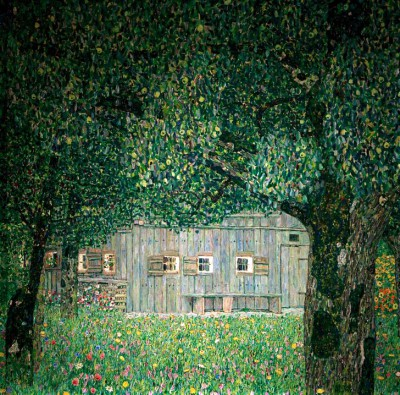 FARM HOUSE IN UPPER AUSTRIA - Gustav Klimt