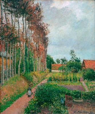 Farm of the Auberge Ango, Varengeville - Camille Pissarro