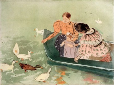 Feeding the Ducks - Mary Cassatt