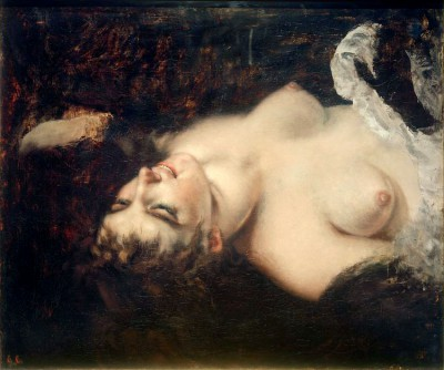 Female act - Gustave Courbet