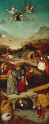 FLUG _ STURZ DES HL. ANTONIUS - Hieronim Bosch