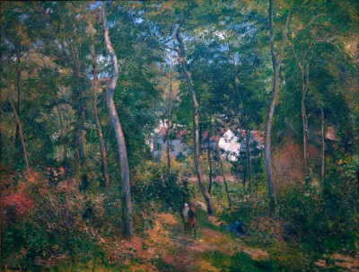 Forest at L'Hermitage, Pontoise - Camille Pissarro