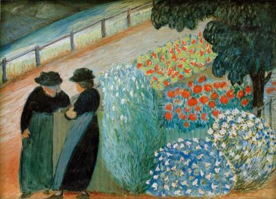 Garden of Women - Marianne von Werefkin