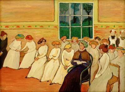 Girls' boarding school - Marianne von Werefkin
