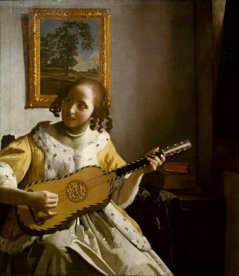 Guitar player - Jan Vermeer